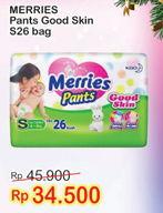 Promo Harga MERRIES Pants Good Skin S26  - Indomaret