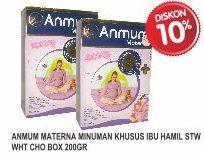 Promo Harga ANMUM Materna Strawberry White Chocolate 200 gr - Superindo