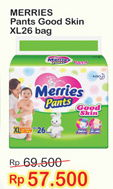 Promo Harga MERRIES Pants Good Skin XL26  - Indomaret