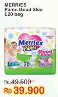 Promo Harga MERRIES Pants Good Skin L20  - Indomaret