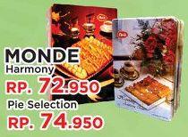 Promo Harga MONDE Assortment Cookies Harmony 850 gr - Yogya