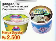 Promo Harga INDOESKRIM INDOESKRIM Nusantara / Tam-Tam Ice Cream  - Indomaret