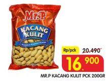 Promo Harga MR.P Kacang Kulit 200 gr - Superindo