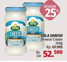 Promo Harga ARLA Cream Cheese 240 gr - LotteMart