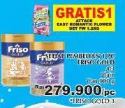 Promo Harga FRISO Gold 3/4 Susu Pertumbuhan 900 gr - Giant