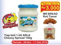 Promo Harga ARLA Cheesy Spread 140 gr - Indomaret