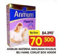 Promo Harga ANMUM Materna Cokelat 400 gr - Superindo