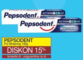 Promo Harga PEPSODENT Toothpaste Plus Whitening 190 gr - Yogya