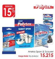 Promo Harga POLYTEX POLYTEX Spons / Scourer  - Lotte Grosir