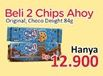 Promo Harga CHIPS AHOY Biskuit Chocolate per 2 pouch 84 gr - Alfamidi