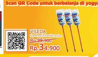 Promo Harga VILEDA Cleaning Equipment Supermocio Double Action  - Yogya