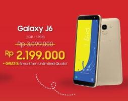 Promo Harga SAMSUNG Galaxy J6  - Erafone