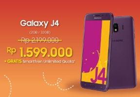 Promo Harga SAMSUNG Galaxy J4  - Erafone