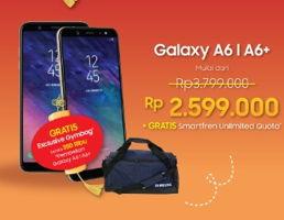 Promo Harga SAMSUNG Samsung Galaxy A6 / A6+  - Erafone