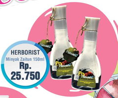 Promo Harga HERBORIST Minyak Zaitun 150 ml - Yogya
