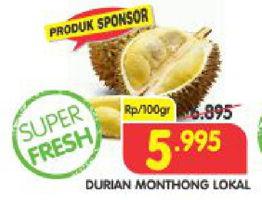 Promo Harga Buah Durian Terbaru Minggu Ini Katalog Superindo Hemat Id