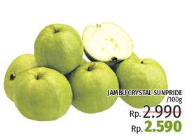 Promo Harga SUNPRIDE Jambu Crystal Sunpride per 100 gr - LotteMart