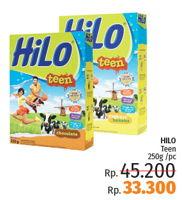 Promo Harga HILO Teen Chocolate 250 gr - LotteMart