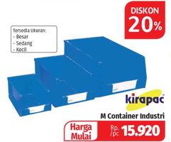 Promo Harga Kirapac Container Box Terbaru Minggu Ini Hemat Id