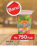 Promo Harga ALE-ALE Minuman Ringan Guava 190 ml - TIP TOP