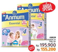 Promo Harga ANMUM Anmum Essential 3/4  - LotteMart