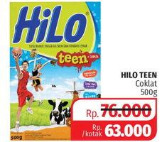 Promo Harga HILO Teen Chocolate 500 gr - Lotte Grosir