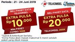 Promo Harga TELKOMSEL Paket Data  - Alfamidi