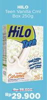 Promo Harga HILO Teen Vanilla Caramel 250 gr - Alfamart