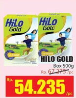 Promo Harga HILO Gold 500 gr - Hari Hari
