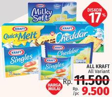 Promo Harga KRAFT Keju Produk  - LotteMart