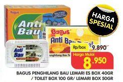 Promo Harga BAGUS Bagus Penghilang Bau Lemari Es/Toilet/Lemari  - Superindo