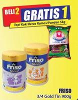 Promo Harga FRISO Gold 3/4 Susu Pertumbuhan 900 gr - Hari Hari