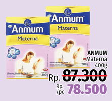 Promo Harga ANMUM Materna 400 gr - LotteMart