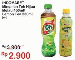 Promo Harga INDOMARET INDOMARET Minuman Teh 330 ml - Indomaret