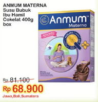 Promo Harga ANMUM Materna Cokelat 400 gr - Indomaret