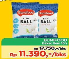 Promo Harga BUMIFOOD Bakso Ikan 16 pcs - TIP TOP