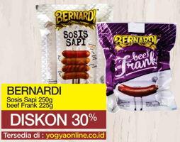 Promo Harga BERNARDI Bernardi Sosis Sapi/ Beef Frank  - Yogya