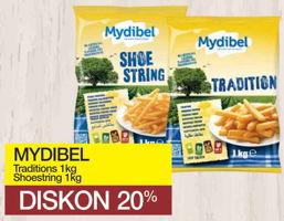 Promo Harga MYDIBEL Mydibel Traditions/ Shoestring  - Yogya