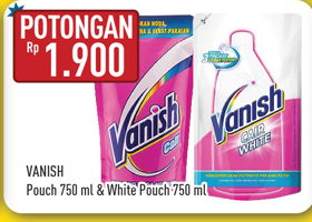 Promo Harga VANISH VANISH White/Penghilang Noda Cair  - Hypermart