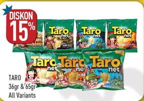 Promo Harga TARO TARO Net Snack  - Hypermart