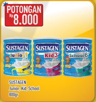 Promo Harga SUSTAGEN Sustagen Junior/Kid/School  - Hypermart
