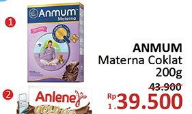 Promo Harga ANMUM Materna Chocolate 200 gr - Alfamidi