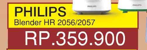 Promo Harga PHILIPS Philips HR 2056/2057  - Yogya