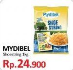 Promo Harga MYDIBEL Shoestring 1 kg - Yogya