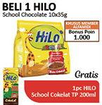 Promo Harga HILO School Susu Bubuk Chocolate per 10 sachet 35 gr - Alfamidi
