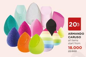 Promo Harga ARMANDO CARUSO Beauty Blender All Variants  - Watsons