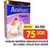 Promo Harga ANMUM Materna Chocolate 400 gr - Superindo