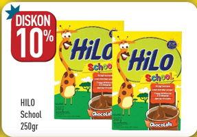 Promo Harga HILO School Susu Bubuk 250 gr - Hypermart