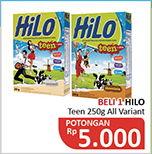 Promo Harga HILO Teen All Variants 250 gr - Alfamidi