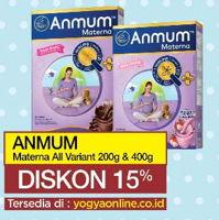 Promo Harga ANMUM Anmum Materna 200 gr / 400 gr  - Yogya